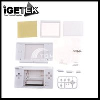 Wholesale Ds Lite Shell Case - Wholesale-White Full Housing Shell Case for NDSL Nintend DS Lite Gaming & Accessories