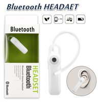 Wholesale mobile phone hands free - M165 Hot Wireless Stereo Bluetooth Headset Earphone Mini Wireless Bluetooth Hands-free Universal For Mobile Phone With Retail Package
