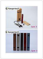 Wholesale Ego 1pcs - 1pcs Original Kanger Ipow 2 1600mAh EGO Battery Kanger Ipow II with OLED Screen Micro USB Charger Kanger battery