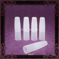 e sigara uzun damla ucu toptan satış-Tüm clearomizer için silikon Test Kapaklar Uzun Damla İpucu silikon kapak Ağızlıklar Kapak için E Sigara CE4 CE5 CE6 Yuvarlak atomizer uzun kap