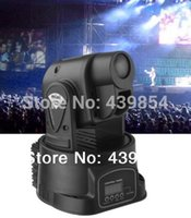 2pcs de envio Atacado-free / Lot DMX512 5/13 Channels15W LED Spot Moving Head Light Gobos Luz