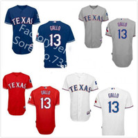 Wholesale Cheap Authentic Cool Base Jersey - Factory Outlet Mens Womens Kids Toddlers Authentic Texas Rangers 13 Joey Gallo White Blue Red Grey Cool Flex Base Cheap Baseball Jerseys