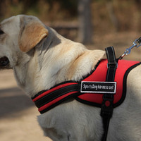 Wholesale Dog Harness Letters - Soft Comfortable Large Dog Harness For Pet Dog Chien Pitbulls Sports Harness For Dogs Produtos Mascotas Good Quality Pet Harness