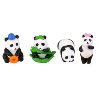 2Pcs Mini Resin Panda Moss Micro World Bonsai Garden Small Ornament  Landscape Home U0026 Garden Decoration DIY Accessories