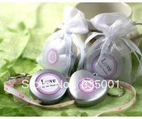 Wholesale Love Beyond Measure Measuring Tapes - Factory directly sale-- 50pcs LOT Love Beyond Measure Measuring Tape Keychain in Sheer Organza Bag