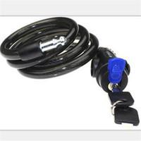 Wholesale Bike Lock Brands - Brand New Multi-color Bike Bicycle durable Security Bracket Lock 12mm*1200mm Steel Wire