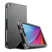 huawei tablet pc toptan satış-Yüksek Ultra Basit orijinal Akıllı 3 Katlanabilir Standı PU Deri kılıf Için Huawei MediaPad T1 7.0 T1-701U 7 '' tablet PC kapak