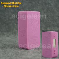 Wholesale D3 Case - Snowwolf mini 75w silicone case *50-200pc VS X Cube II 160W  Wismec Reuleaux RX200 Sigelei mini book 40w cover  IPV D3  Nebox case