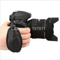 Wholesale Camera Hand Stand - Leather Hand Grip Strap Photo Studio Accessories for N all brand camera D5000 D5100 D7000 D90