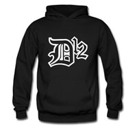 Wholesale Black Dk - New Spring Autumn Winter Eminem D12 hedging trend Hip Hop Sweatshirt hoodie DotA DOTA2 fleece sweater DK pullover sweater