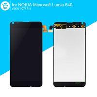 pantalla de microsoft al por mayor-Al por mayor-Original LCD para NOKIA Microsoft Lumia 640 pantalla táctil digitalizador piezas de repuesto 107471