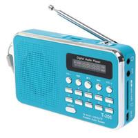 Wholesale internet packs for sale - Group buy T Radio Portable handsfree HiFi Card Speaker Digital Multimedia Loudspeaker AM FM Radio DHL