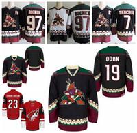 Vintage Arizona Coyotes Hockey Jerseys 19 Shane Doan 23 Oliver  Ekman-Larsson 97 Jeremy Roenick 7 KEITH TKACHUK Classsic Stitched Jerseys 4f209fd4e
