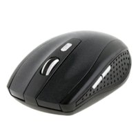 Blu Wireless Mouse ottico Luce Moda USB 2.4GHz ricevitore USB Mouse senza fili di gioco di computer PC Laptop Desktop CMHM365