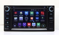Wholesale Toyota Prado Audio - Android 5.1 Car DVD Player for Toyota RAV4 Hilux Corolla Vios Prado with GPS Navigation Radio BT USB AUX Audio Stereo WIFI