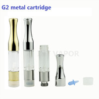 Wholesale E Cig New Design - New Design CE3 e cig Plastic G2 cartridge Clearomizer vape tank vaporizer 510 bud Cartridge gold metal vaporizer-03