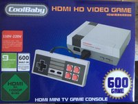 HD HDMI Out Retro Classic Game TV Video consola de juegos portátil Sistema de entretenimiento Built-in 600 Classic Games