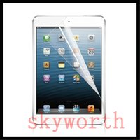 Wholesale Ipad3 Lcd - ULTRA CLEAR LCD Screen Protector Film Guard Shield for iPad 2 3 4 5 6 ipad air 2 mini 4 W  Retail Package
