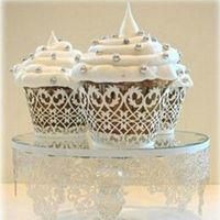 Wholesale Laser Cut Boxes Designs - 240pcs lot Heart Design Laser Cut Paper Wrapper Cake Cupcake Surrounding Edge Wedding Party Pancake Packing wc563
