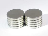 magneten zum verkauf kostenloser versand großhandel-100pcs / lot heißer Verkauf Super starker runder Scheiben-Zylinder 12 x 1.5mm Magneten seltene Erde Neodym freies Verschiffen
