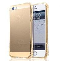 ar do iphone 5,5 venda por atacado-Air Sac Anti-knock TPU Soft Case Capa para iPhone 6 6 S 4.7 polegadas e 6 S Além de 5.5 polegadas