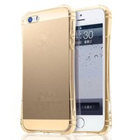 iphone hava 5.5 toptan satış-Hava Kesesi, Anti-vurmak TPU Yumuşak Kapak Kılıf iphone 6 6 S 4.7 inç ve 6 S Artı 5.5 inç