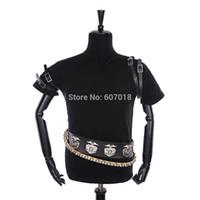 Wholesale Michael Jackson White Jacket - Fall-HOT MJ MICHAEL JACKSON MEN'S JACKET PUNK BAD BLACK JACKET FASHION COOL PERFORMANCE GIFT