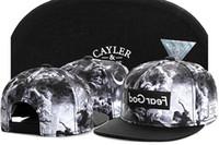 casquettes en jean lavé achat en gros de-2015 Cayler Sons Athletic Outdoor USA drapeau américain kush ball casquettes chapeaux, casquette lavé acide KUSH Denim Schwarz, chapeaux chauds de vente de Noël