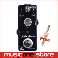 Wholesale Mooer Micro Pedal - Eno Music EX Micro DM-3 Metal Distortion Guitar Effect Pedal Micro As MOOER Free connector MU0127