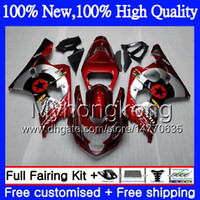 Wholesale motorcycle red yellow for sale - Group buy Dark red star Body Motorcycle For SUZUKI GSXR GSX R600 K4 GSXR MY GSX R750 GSX R600 GSXR750 GSXR600 Fairing