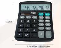 Wholesale Solar Desk - New Solar Power And Batter Powered Desk Desktop Jumbo Large Buttons Digit Calculator Battery Calculator Free Shipping
