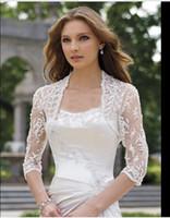 Wholesale Shawl For Lace Black Dress - 2015 winter shawl lace shrug lace wraps bolero wedding Bridal Jacket bolero jackets bridal bolero lace for wedding dresses