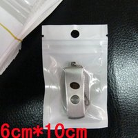 Wholesale packing usb flash for sale – best 6cm cm White Clear OPP Pearl Self Seal Zipper Ziplock Plastic Retail Packing Package Bag for Flash Disk USB Cable Key MP3 Dust Plug Food