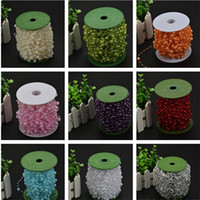 Wholesale crystal chains garland for sale - Group buy All Over The Sky Star Connection Beads mm Beads Flowers Packaging Wedding DIY Hand Bouquet Pearl Bead Chain Garland Wedding DIY Hand T