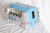 Wholesale Diamond Microdermabrasion Equipment - EU tax free Hydro Dermabrasion Water Skin Rejuvenation Anti Aging Diamond Microdermabrasion Hydro Peeling Facial Machine Spa salon equipment