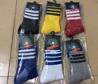 Wholesale Cheap Quality Socks - Adult Football Soccer Socks Short thai Quality Thicken Combed Cotton Towel cheap socks Above Knee Tube Durable Stockings Sport Chaussette