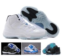 Wholesale Best Low Cut Basketball Shoes - Legend Blue Gamma Concord Bred Space Jame Retro 11 Mens Basketball Shoes New Fashion Best Outdoor Sports Shoes For Adult With Box