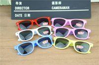 Wholesale Candy Color Copper - Fashion Children Anti UV Light 2015 girls boys sunglasses M nail sunglasses candy color sun glasses free shipping in stock