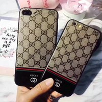 Wholesale Silicone Matte - Luxury brand printing matte silicone phone case for iPhoneX 8 8plus TPU soft shell for iPhone7 6 6S 7plus