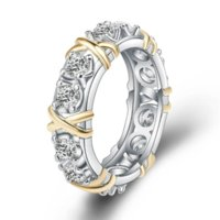 Wholesale Rose Shape Rings - Stock Fashion Exquisite Lady's Silver Rose Shape Wedding Ring Best Gift for Friends, Valentine's Day and Christmas Day