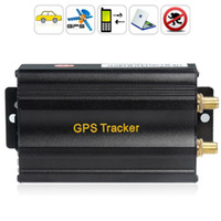 Wholesale Tracker Speed - TK103A Vehicle Car GPS Tracker Real-Time Speed Alert Quad-band GSM GPRS Tracking Device System With SD Card Slot