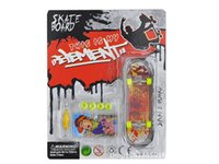 Wholesale Cute Bicycles - Cute finger skateboard and Finger bike Toys Mini-Finger-Bmx Fingerboard finger skate board scooter Professional children Bicycle