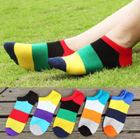 Wholesale Wholesale Luxury Socks - 2016 Luxury Brand Cycling Socks For Men High Quality Cotton Fashion Colorful Basketball Sport Socks Classic Mens Business Elite compression