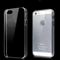 Wholesale Iphone 4s Hard Shell Cover - For Iphone 6 and 6 plus Case Slim Ultra Thin Transparent Clear Hard PC case Cover Shell for Apple iPhone 5 5S 5C 4 4S 10pcs