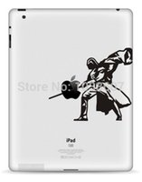 Wholesale Ipad Ii Skins - Wholesale-Film Decal Vinyl Sticker Skin Customization for iPad Air 120 Man II