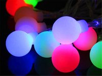 Wholesale Outdoor Wedding Supplies - 10m led large bulb string light, waterproof outdoor patio lanterns decorated wedding celebration party supplies Christmas tree light strings