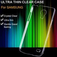 Wholesale Galaxy S4 Hard - 3pcs lot! Transparent Clear Crystal Mobile Phone Cover For Samsung Galaxy S4 Mini I9190 I9192 I9195 Slim Light Hard Back Case