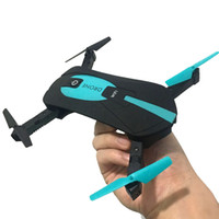 Wholesale JY018 WiFi FPV Quadcopter Mini Dron Foldable Selfie Drone RC Drones with Camera HD FPV Professional RC Helicopter Gift