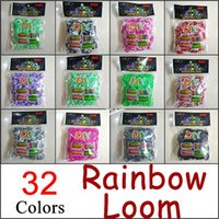 Wholesale Cheap Rubber Band Loom Kit - Cheap!!Rubber Loom Bands, DIY Charm Bracelet Children Intelligence Development Powerful Gift, diy colorful rubber loom bands kit