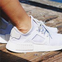 Wholesale Hot White Women - HOT SALE 2018 New Originals Boost NMD XR1 Primeknit Mastermind Japan Women Men Designer Running Shoes Sneakers